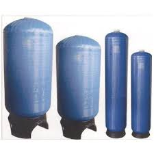 Fiber wrapped polyethylene cylinder