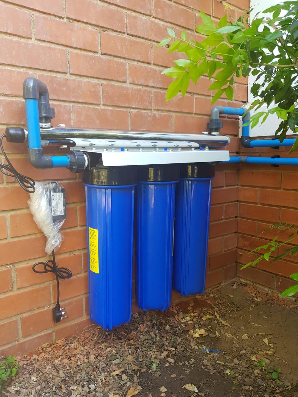 Waterguru triple filtration unit